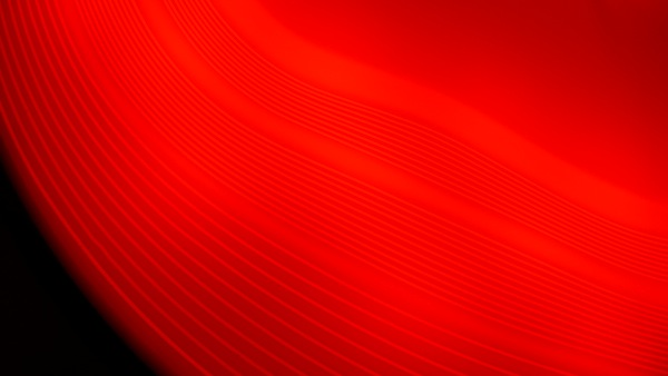 Luminaire, detail, rouge